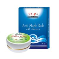 Dherbal Anti Mark Face Pack & Aloe Vera Gel